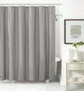 Clear Shower Curtain Liner With Magnets