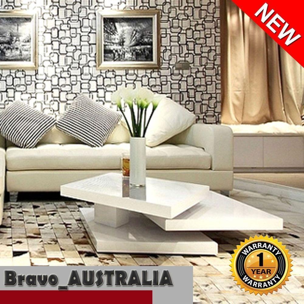 24+ White high gloss coffee table ebay ideas