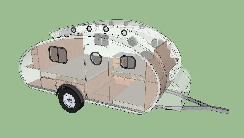 Teardrops N Tiny Travel Trailers View Topic Modified 2 2