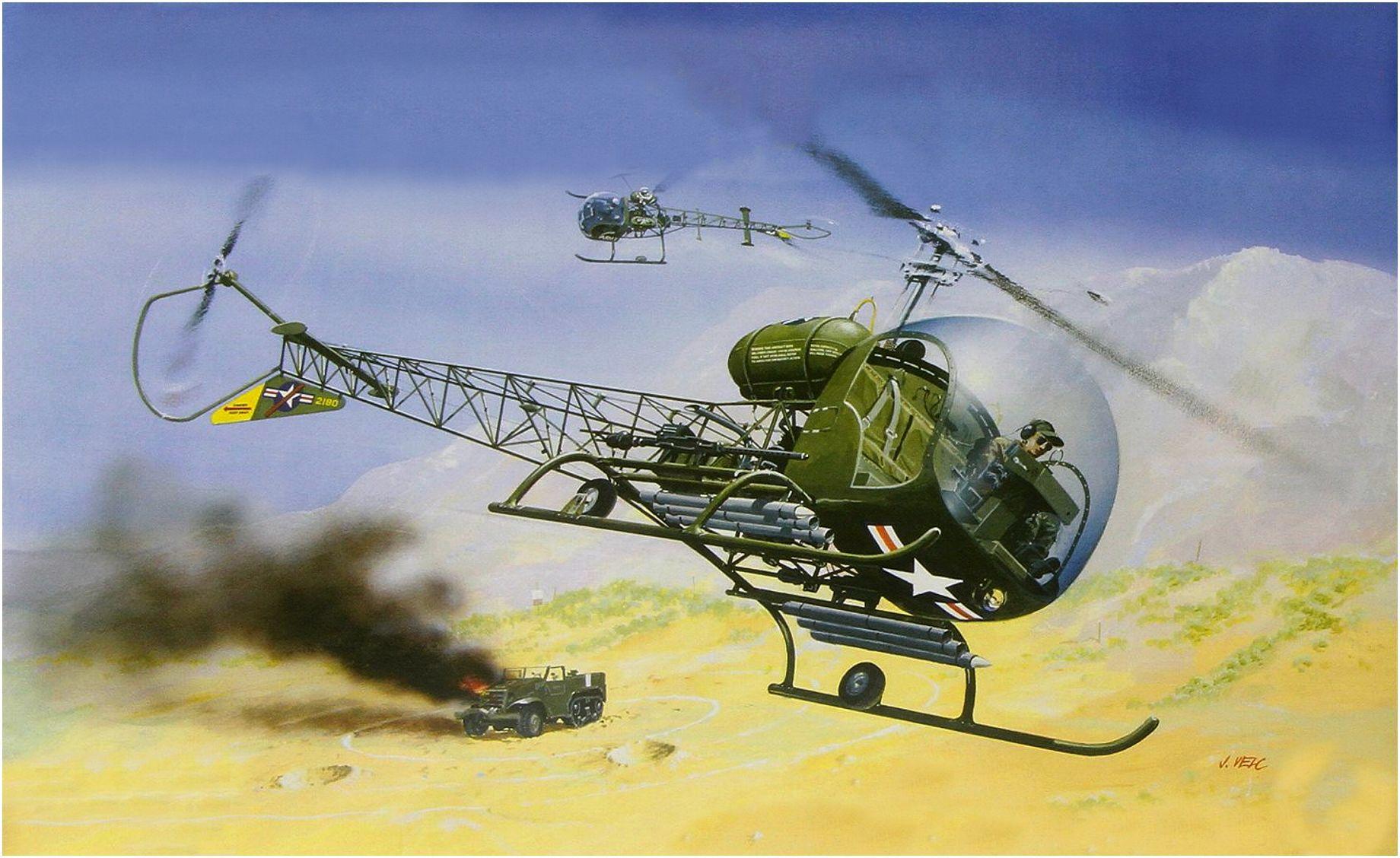 Bell H-13H - USA
