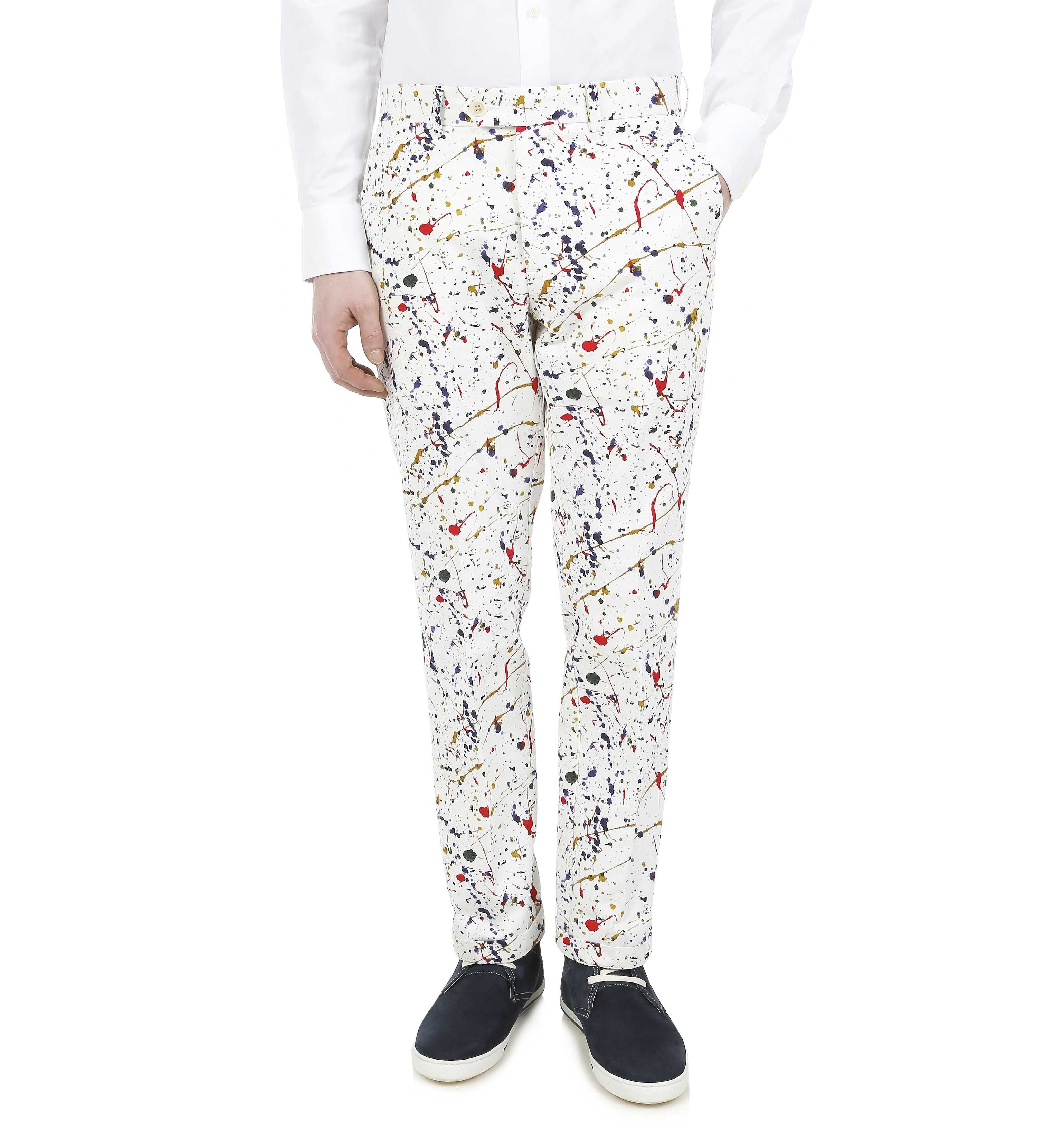 Trousers Paintsplash Chino