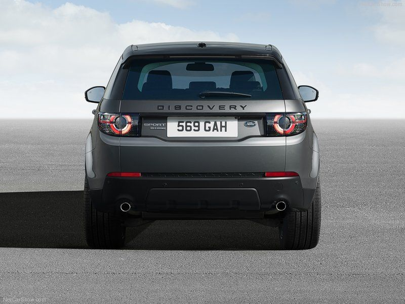 Land Rover Discovery Sport 2015 Back Angle Autonewcars Com Land Rover Discovery Sport Land Rover Discovery Land Rover