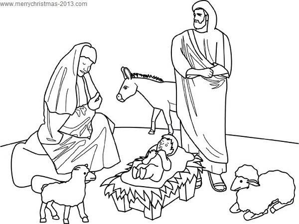 Birth Of Jesus Christmas Pictures To Color And Print For Free Nativity Coloring Pages Christmas Coloring Pages Printable Christmas Coloring Pages