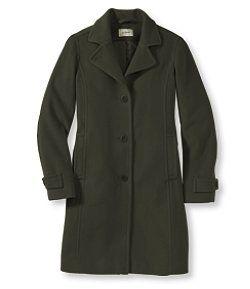 Three-Quarter Classic Lambswool Polo Coat