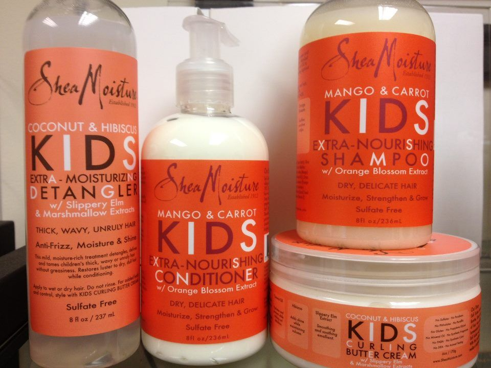 Sheamoisture Mango Amp Carrot For Kids I Actually Prefer The