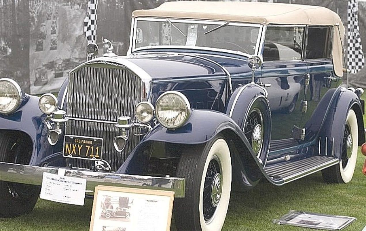 Nikola Tesla S Electric Car A 1931 Pierce Arrow Similar To The