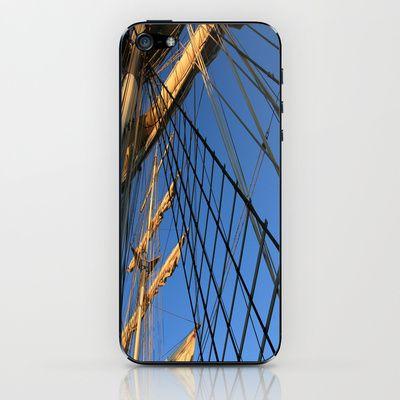 Under Flag iPhone & iPod Skin by Angelika Kimmig - $15.00