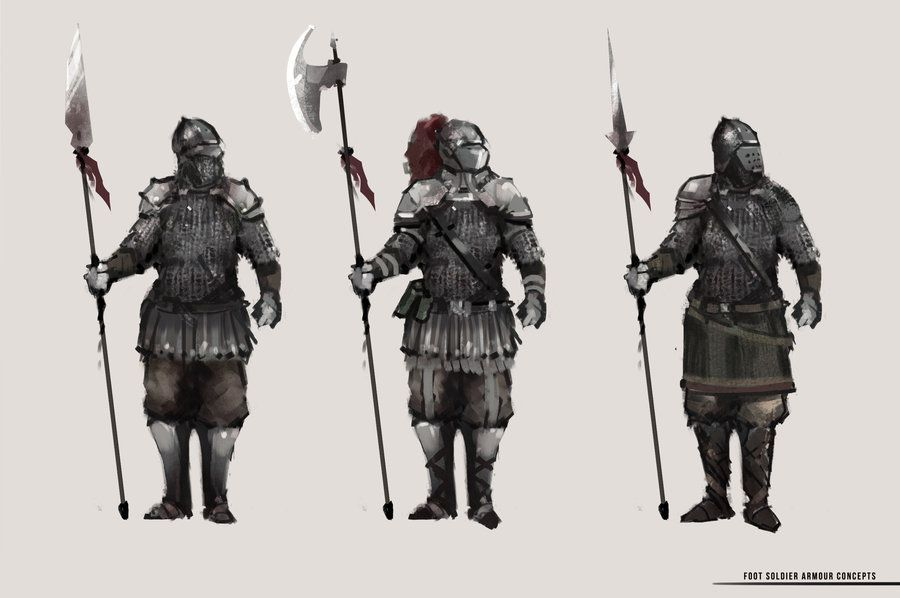 Medieval Fantasy Soldier Google Search RPG Pinterest D
