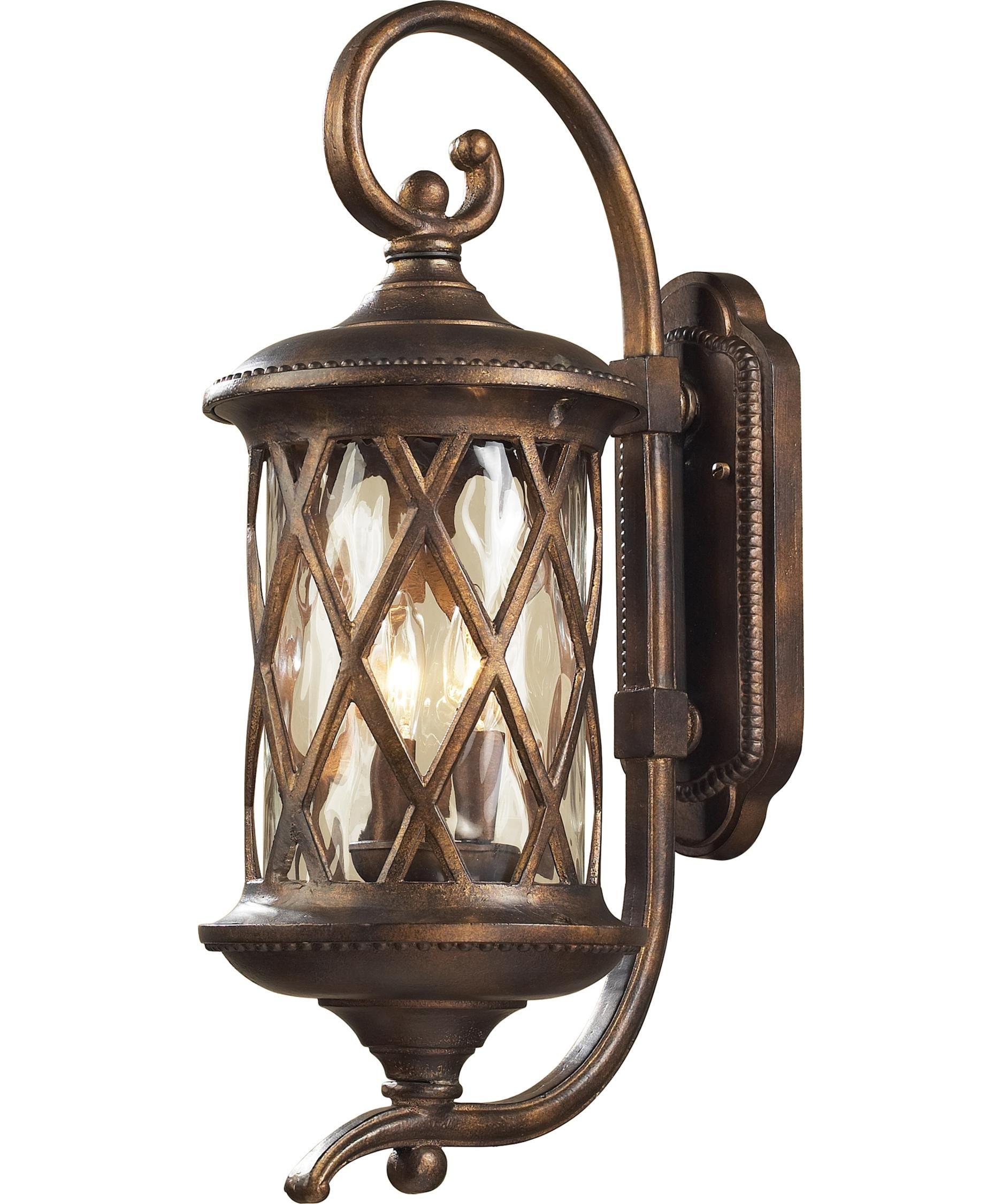 Elk Lighting 42031 2 Barrington Gate Light Outdoor Wall Capitol 1