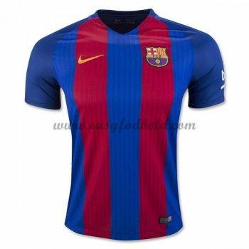 Fodboldtrøjer La Liga Barcelona 2016-17 Hjemmetrøje