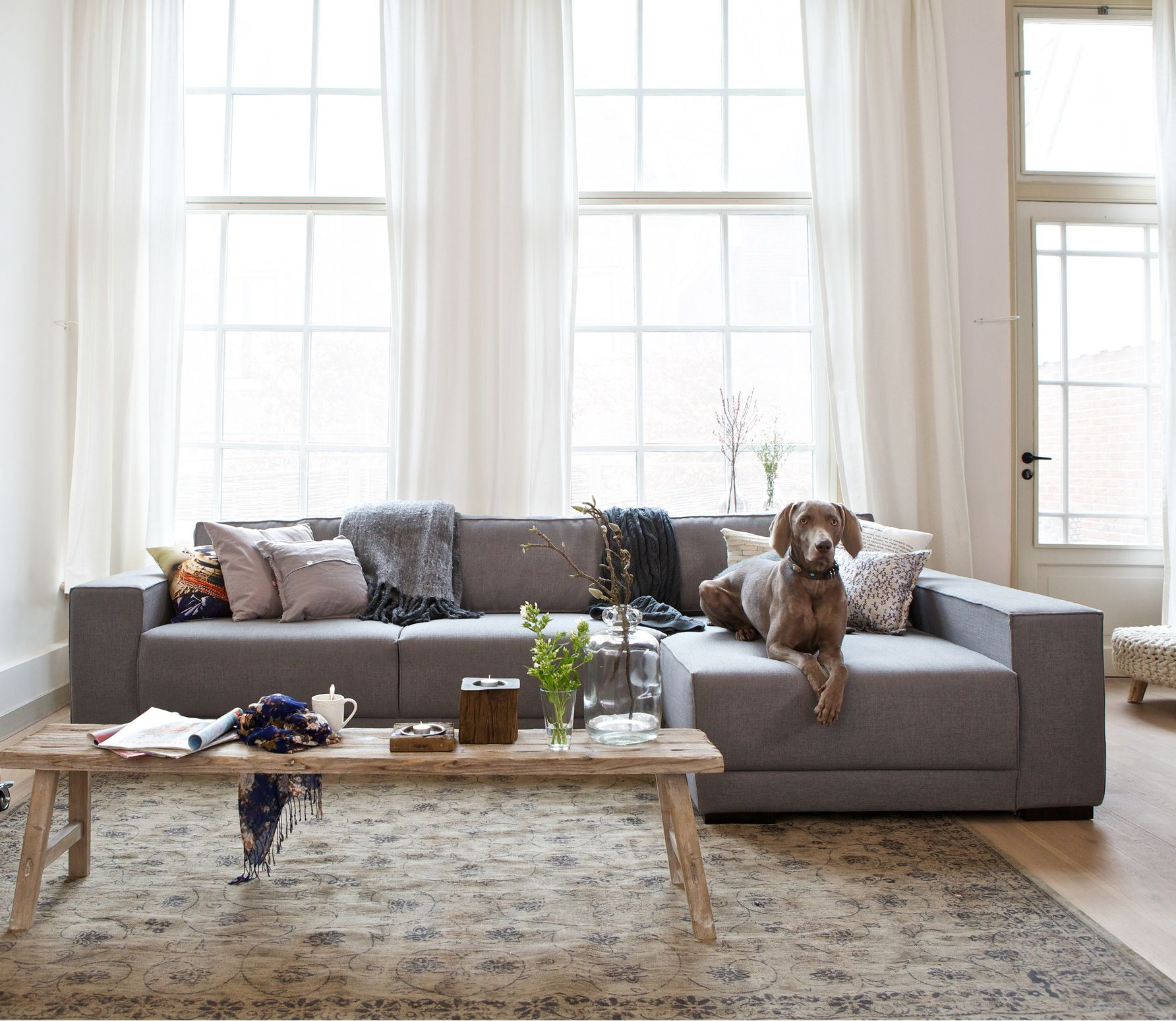 voorbeeld van vintage vloerkleed mole brown diverse afmetingen 429 wohnzimmer pinterest. Black Bedroom Furniture Sets. Home Design Ideas