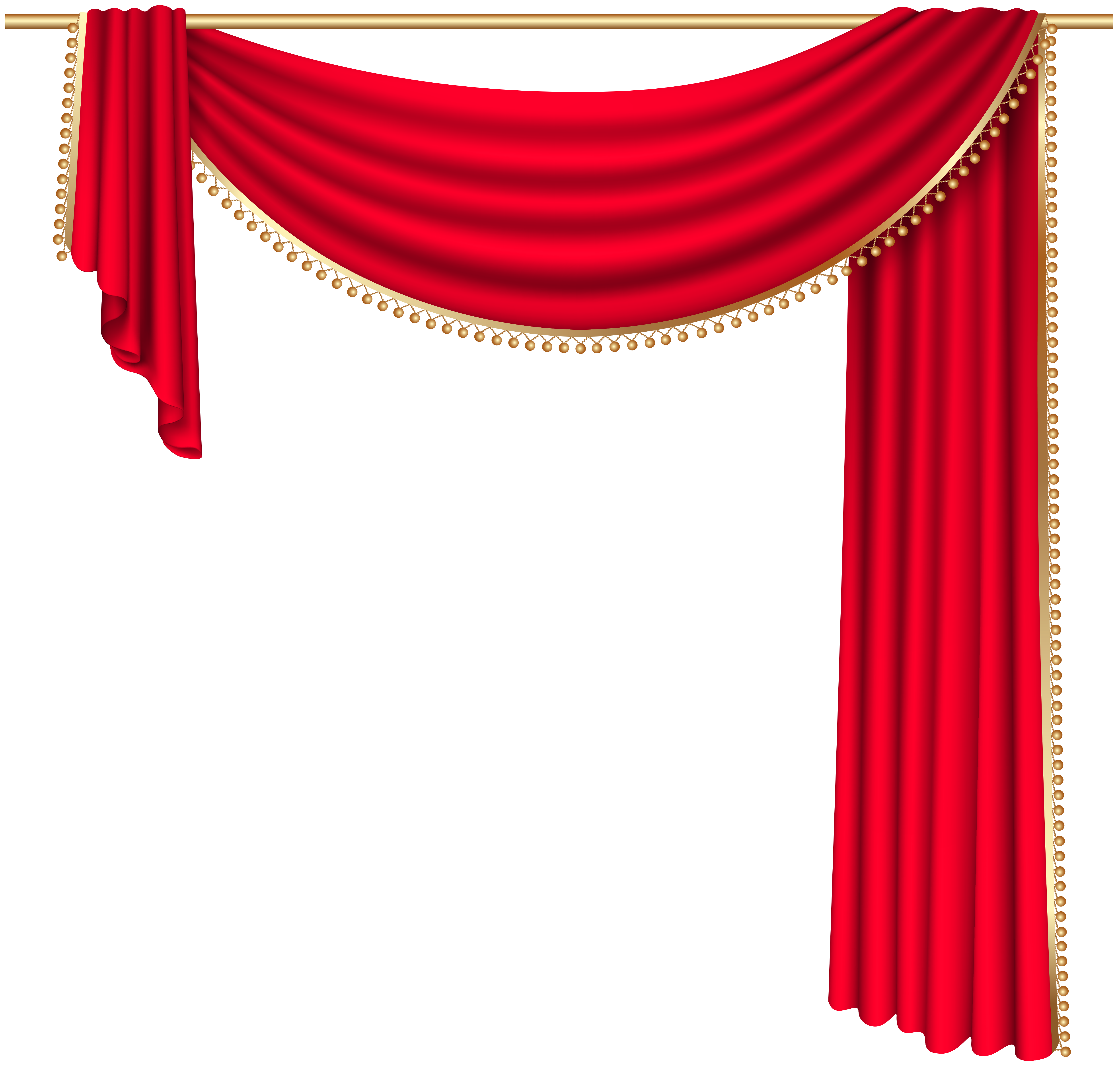 The Clip Curtain 139 Cool Curtains Red Curtains Curtains Vector