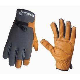 Lowes Work Gloves >> Kobalt X Large Men S Leather Palm Work Gloves 13103