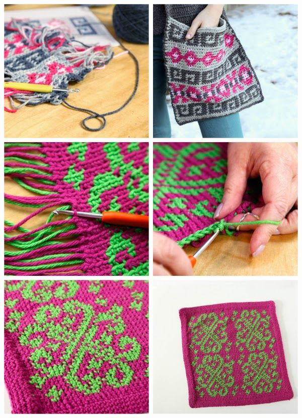 Craftsy class giveaway – Fair Isle Crochet | Crochet Purses/Tote ...