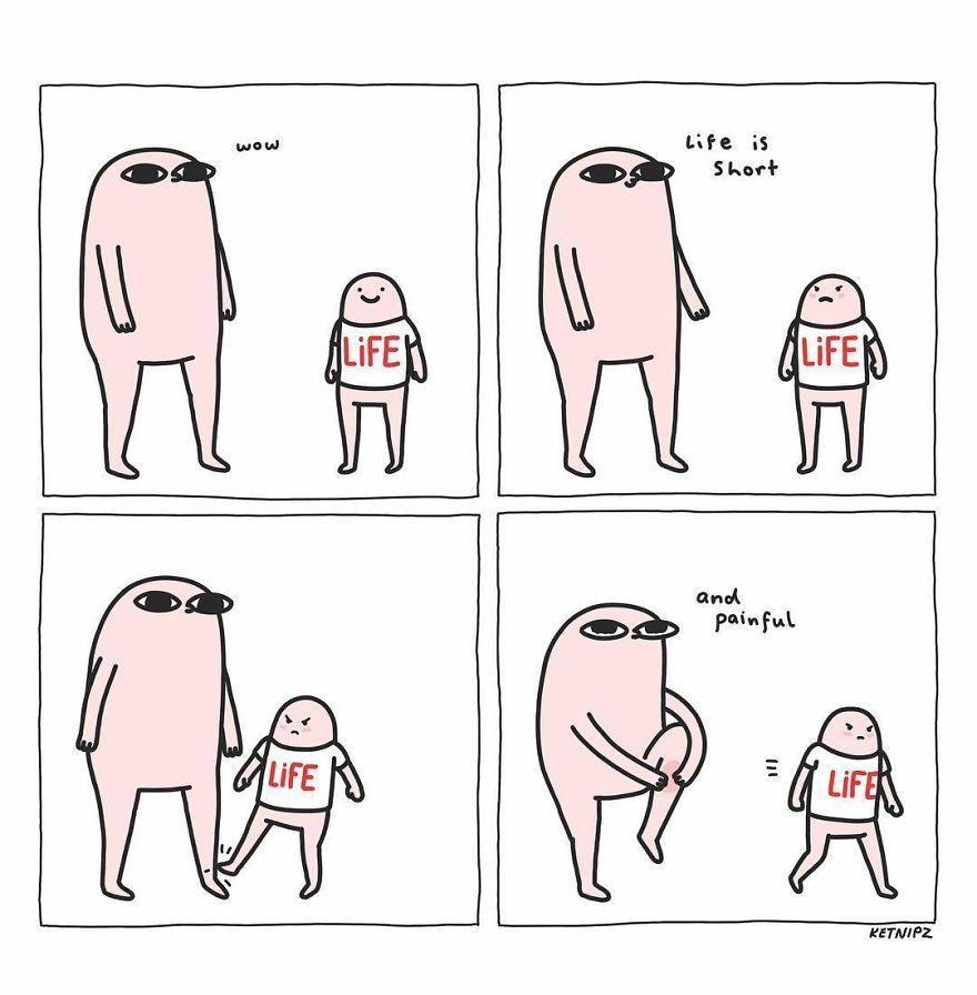 67 Hilarious Comics By 18-Year-Old Artist