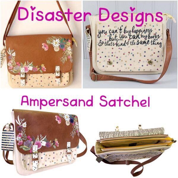63a649e593e Disaster Designs Satchel https   m.facebook.com QuirkyBirdAccessories   Disaster