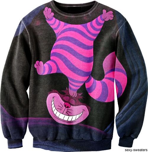 Tumblr Cheshire Cat From Alice In Wonderland Sweater Alice In
