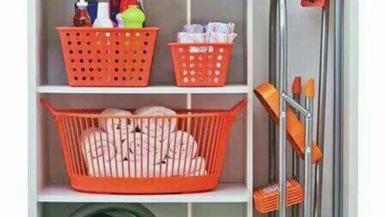 Ideas Para Organizar Los Productos De Limpieza Organizar Los