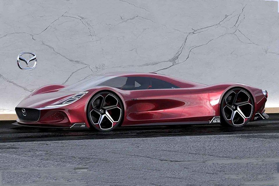 Mazda Rx 10 Vision Longtail Concept Mazda Super Cars Long Tail