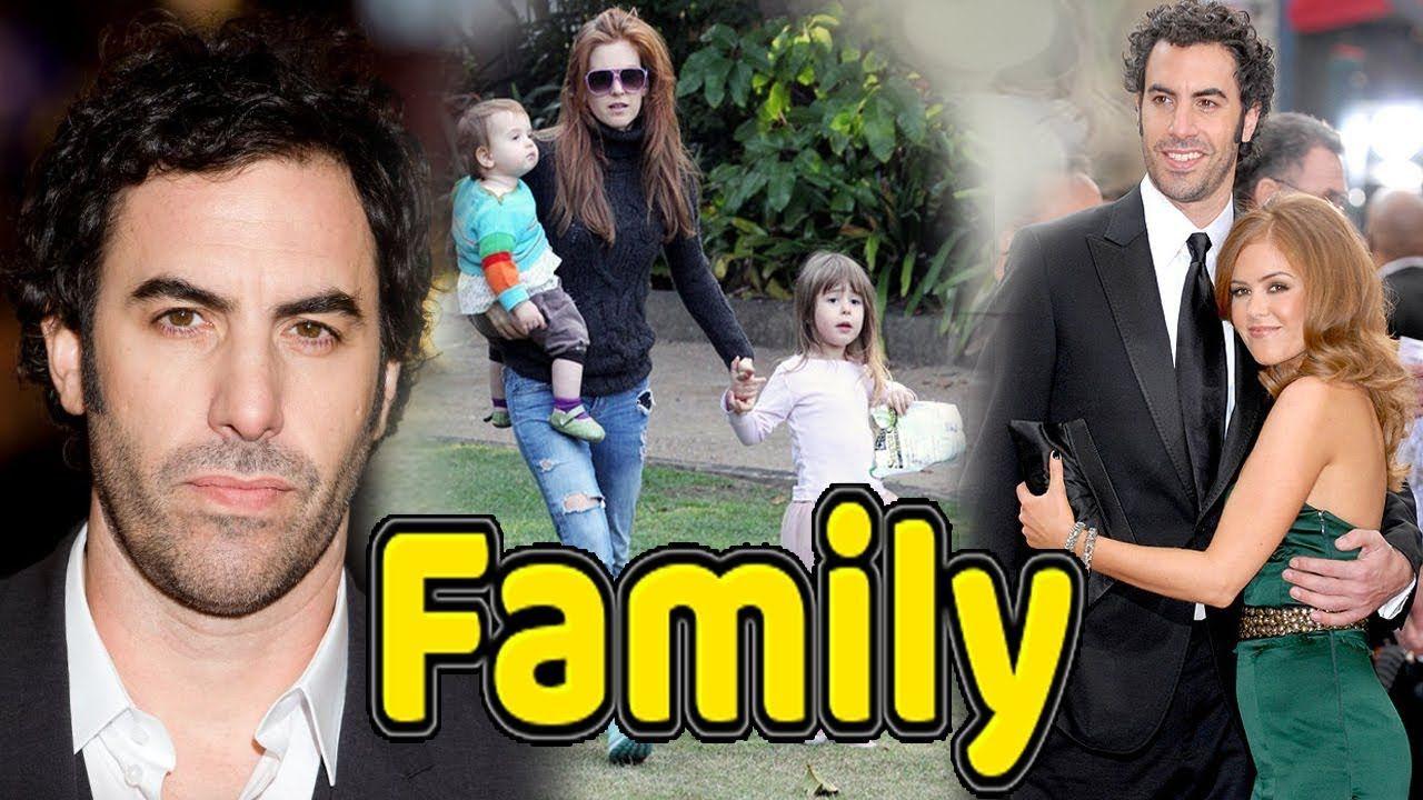 Sacha Baron Cohen Family Photos With Daughter,Son and Wife ... Sacha Baron Cohen Spouse