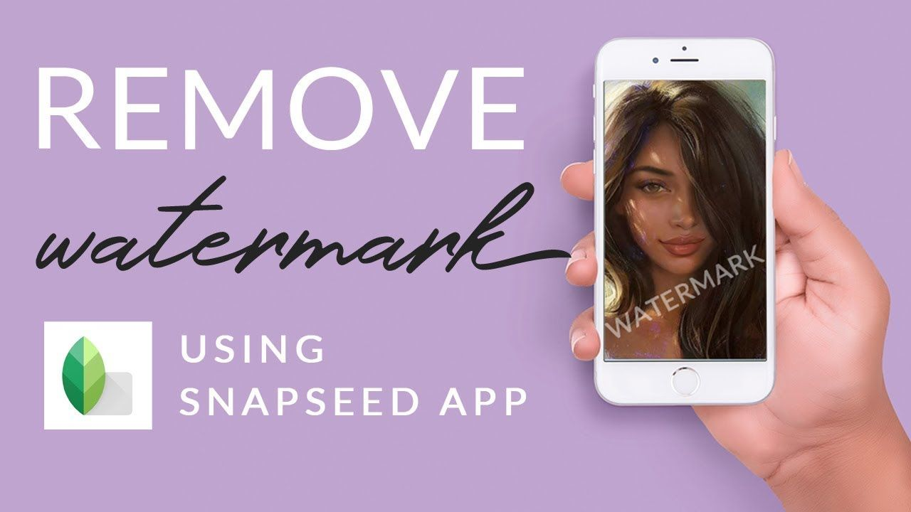 How To Remove Watermark On Snapseed How To Remove Easy Tutorial Snapseed