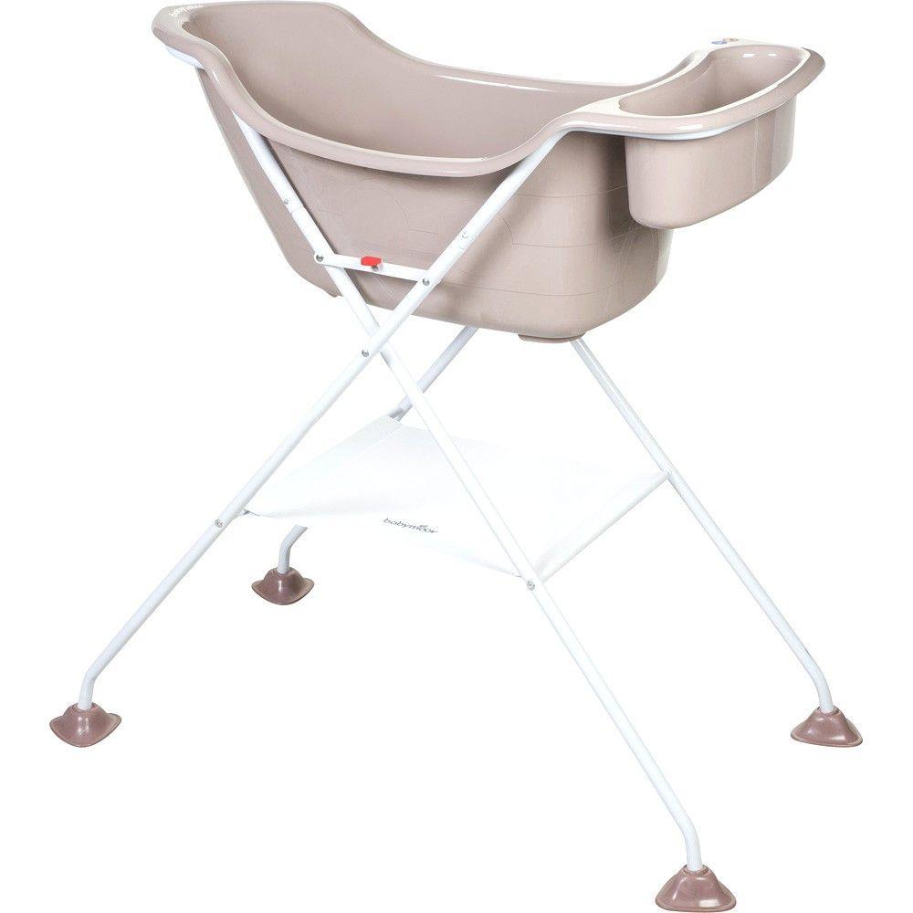 Baignoire Bebe Sur Pied Avec Roulette Pour Le Confort Dautomne