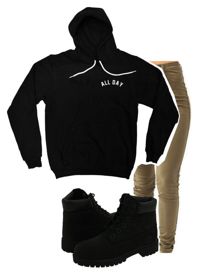 All day by imma-ninjah on Polyvore featuring polyvore, fashion, style and Timberland