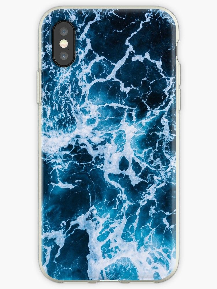 new product 7a458 7673e Blue Ocean Summer Beach Waves | iPhone Case & Cover in 2019 | phone ...