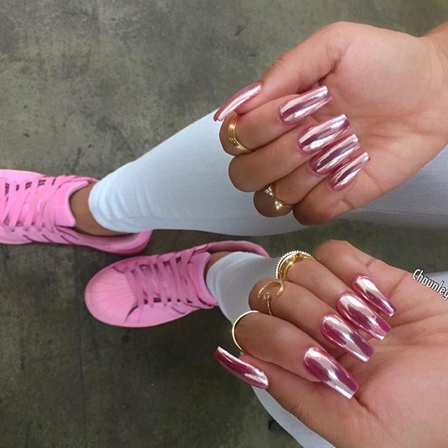 All pink everything (well almost) for @justhenny | Nails | Pinterest ...