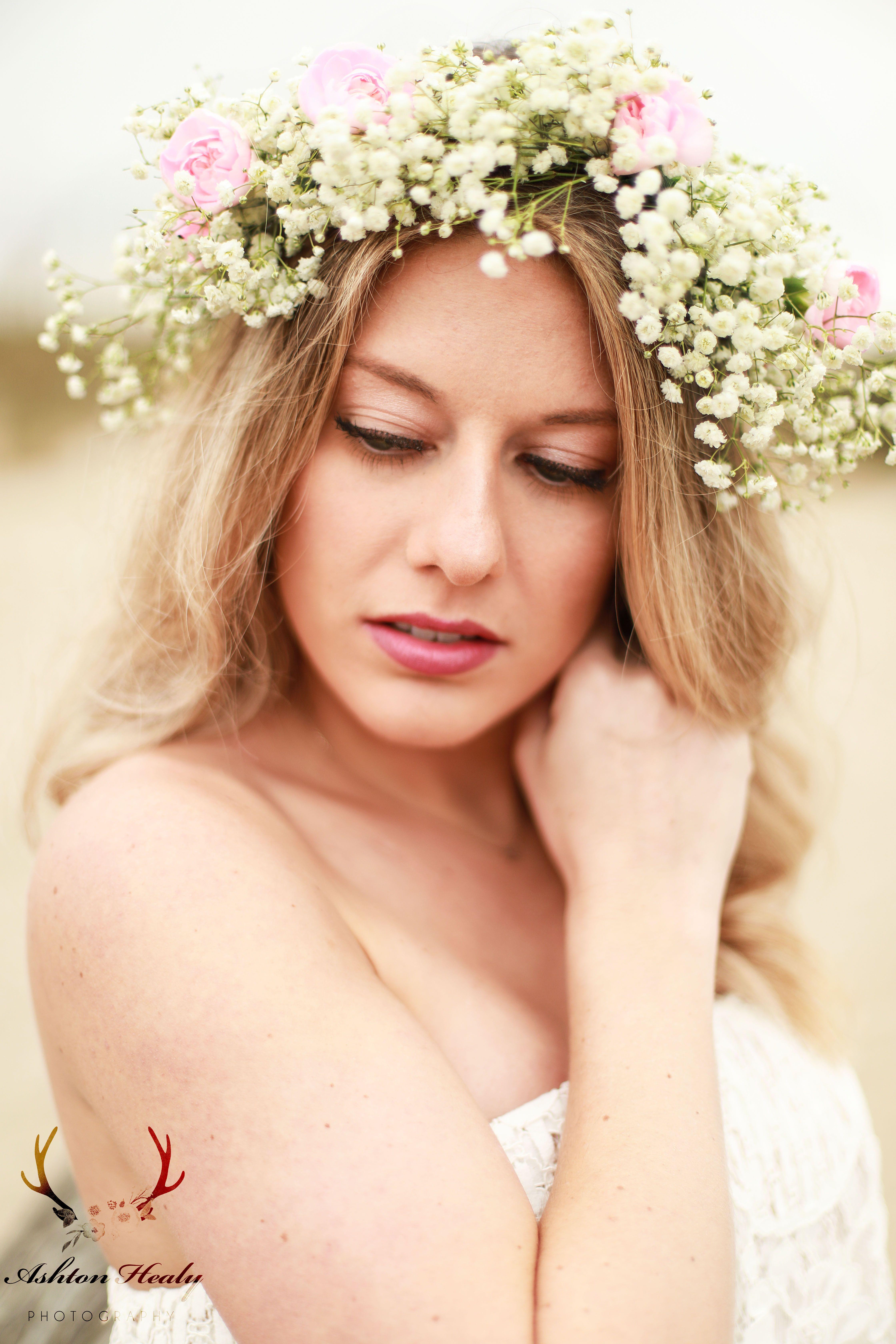 Behind the Scenes Video Flower crown tutorial, Diy