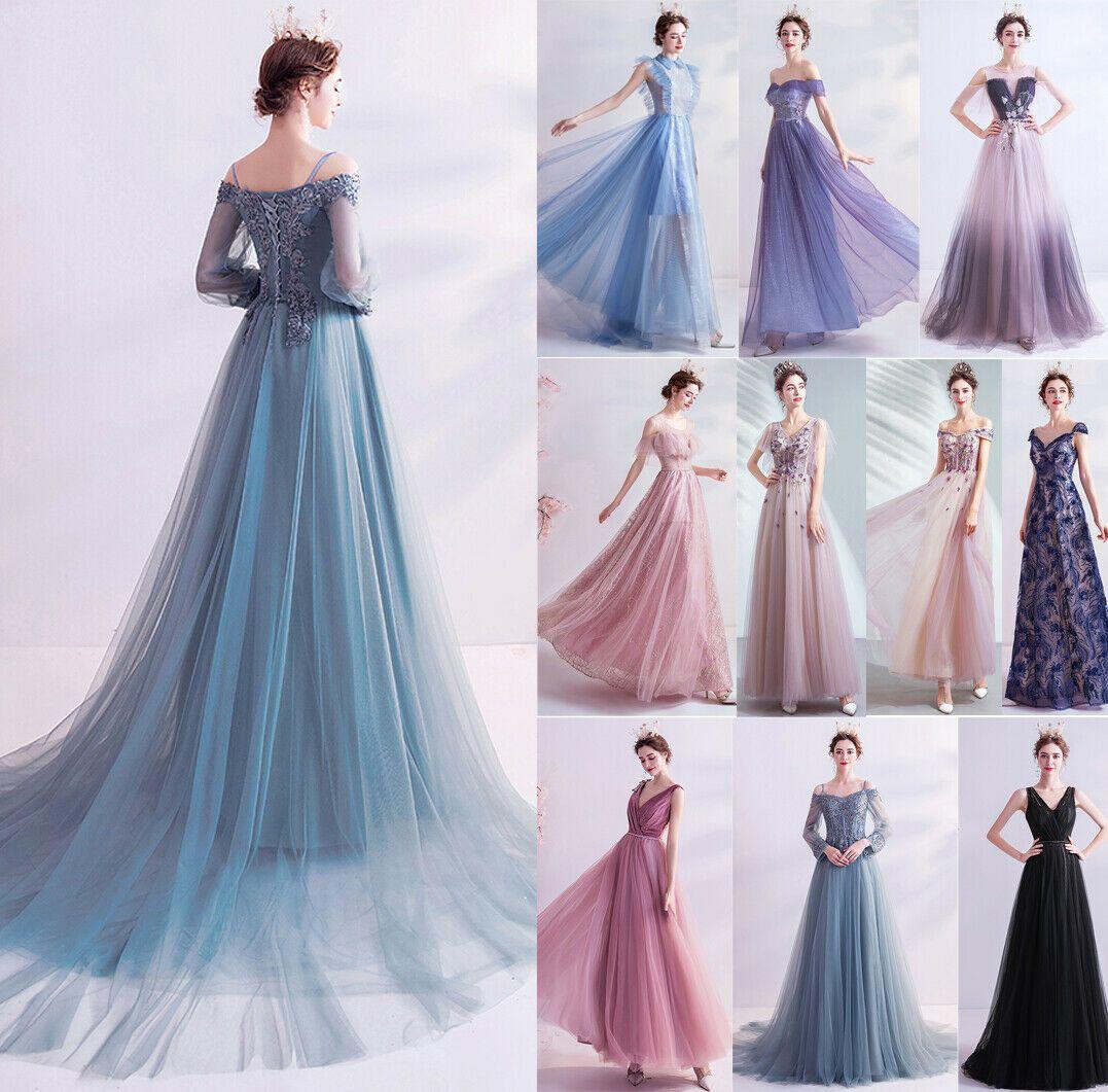 Edel Abendkleider Cocktailkleid Ballkleider Party Show Host Lang Kleider 12 Stil Ebay In 2020 Dresses Wedding Dresses Formal Dresses Long