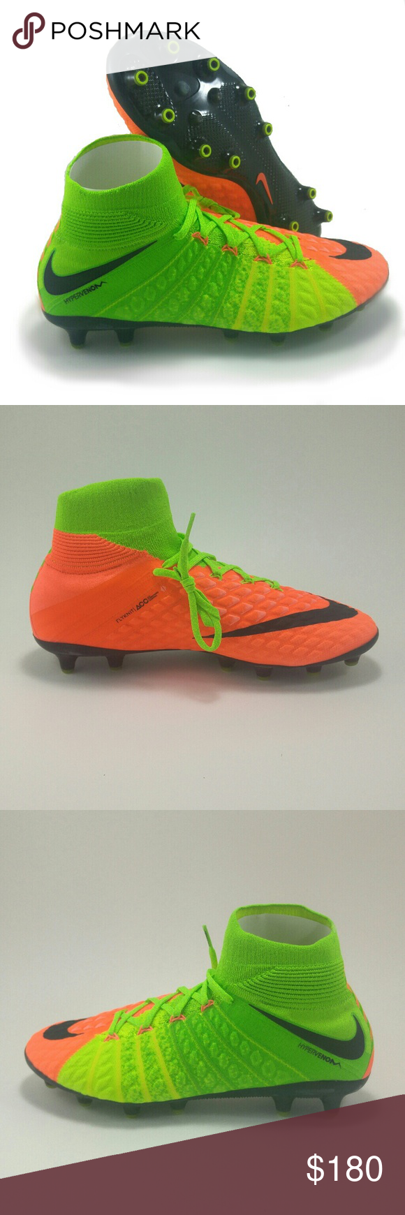 innovative design 5ba55 d314e Nike Hypervenom Phantom 3 DF AG PRO Soccer Cleats Brand New, With Box  Includes String
