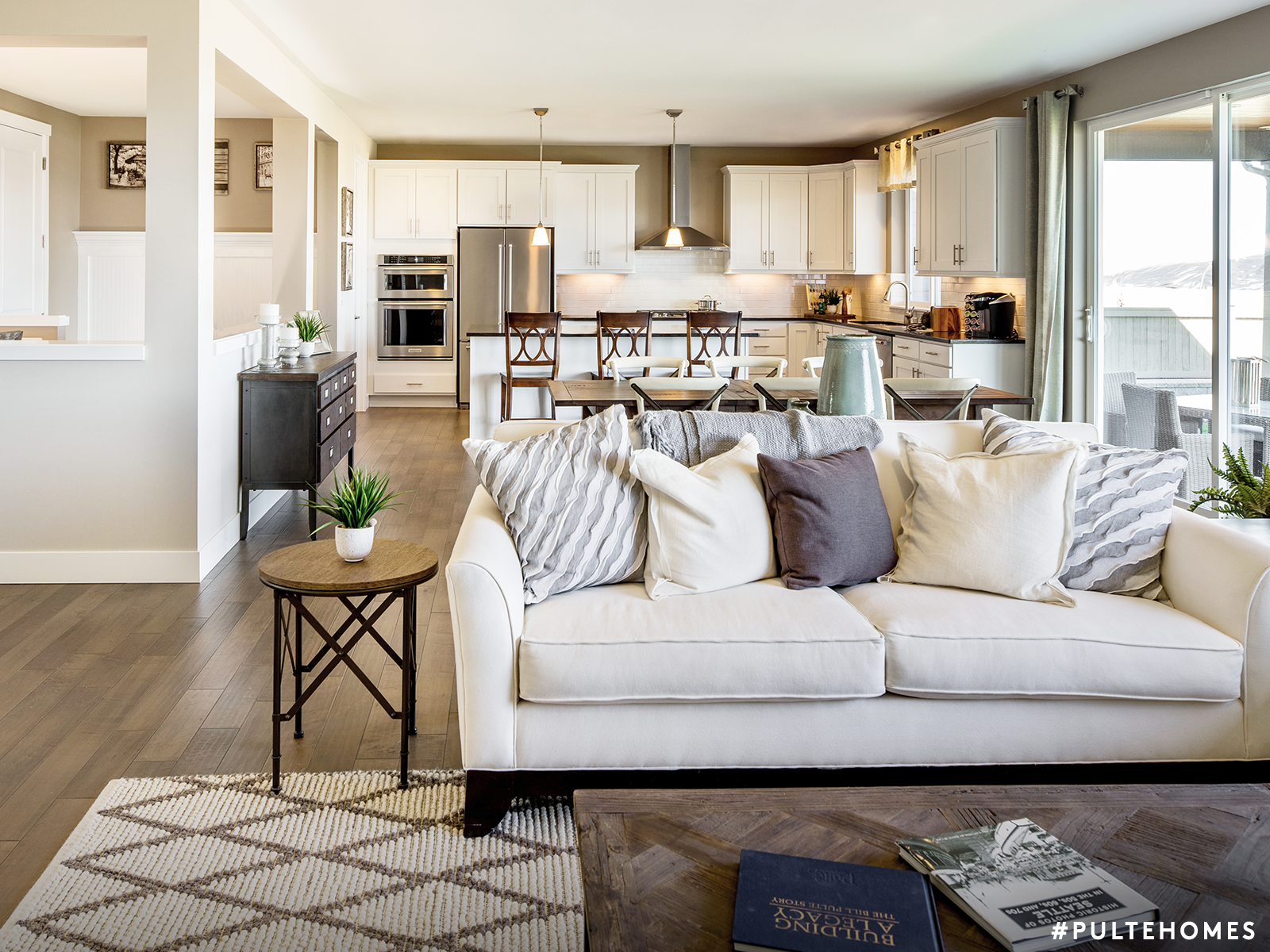 Open Floor Plans Prevent Your Home From Feeling Walled Off Literally Pulte Homes Sophisticated Living Rooms Comfortable Living Rooms Living Room [ 1200 x 1600 Pixel ]