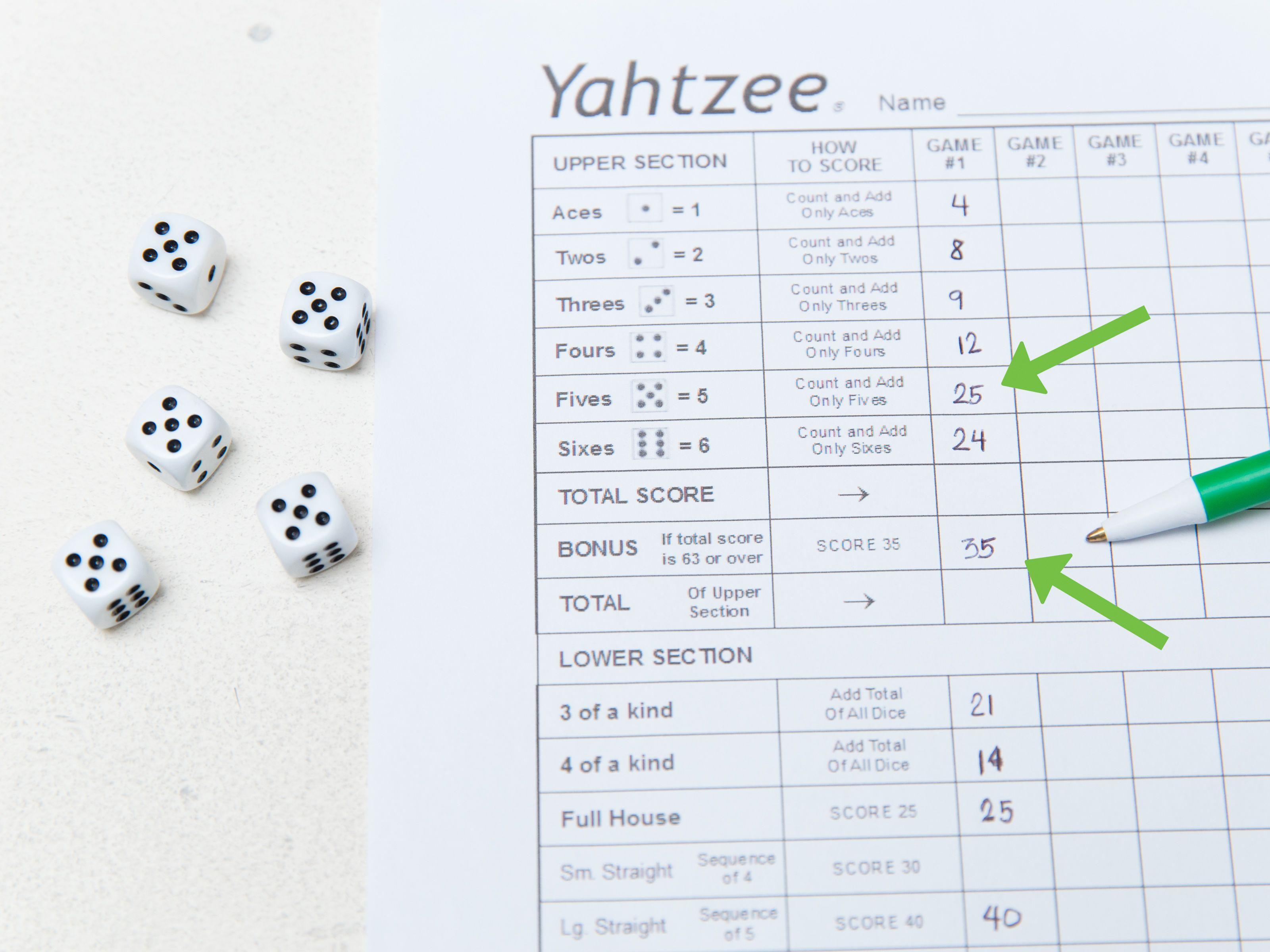 Play Yahtzee Yahtzee, Casino bonus, Casino