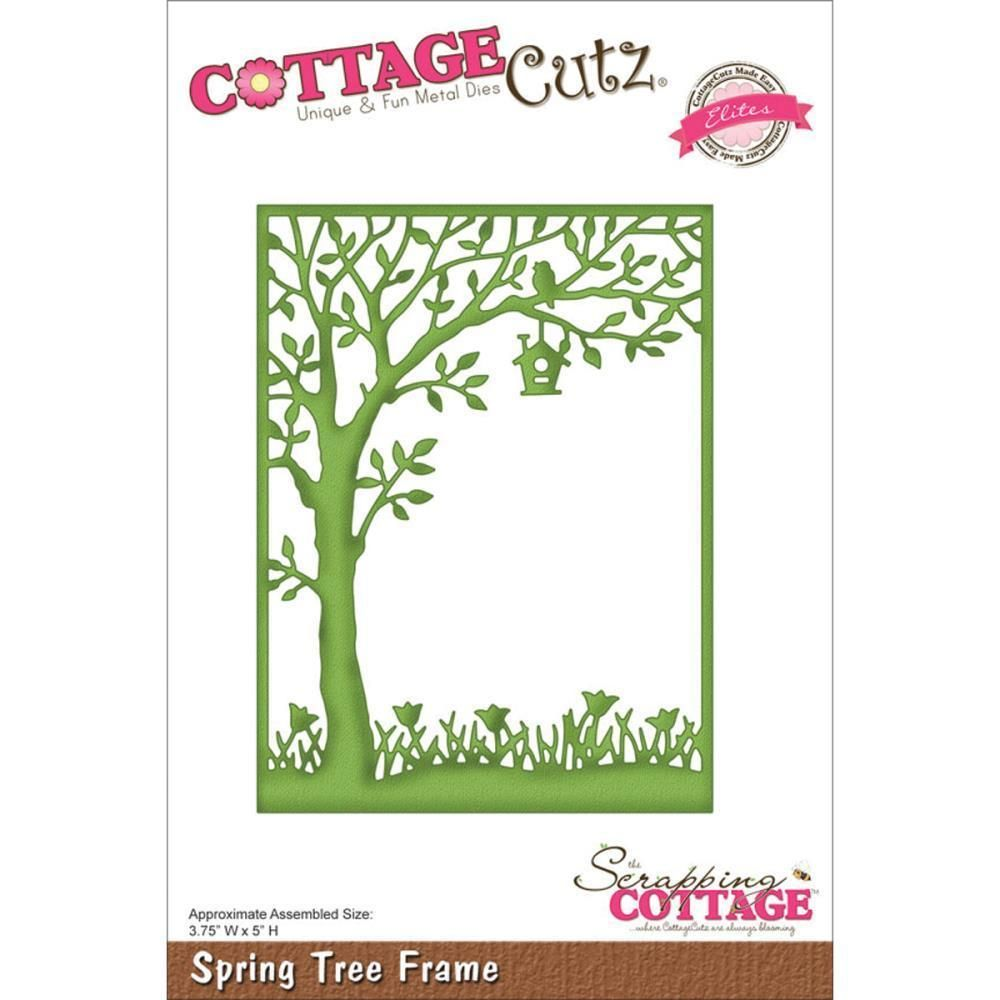 Spring Tree Frame In Crafts Cardmaking Scrapbooking Die Cutters