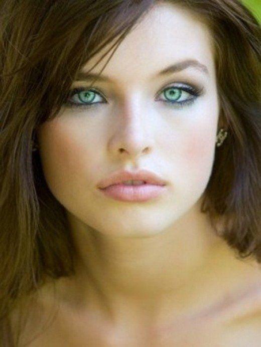 Pale skin, light green eyes, and medium brown hair | Hair ...