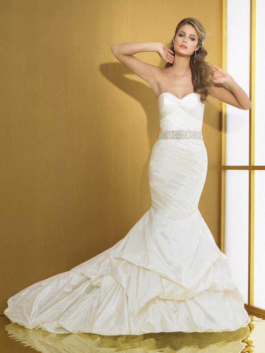 Silk Taffeta Mermaid Sweetheart Wedding Dress D8013 Bupop Com Wedding Dresses Sweetheart Wedding Dress Mermaid Wedding Dress [ 1200 x 900 Pixel ]