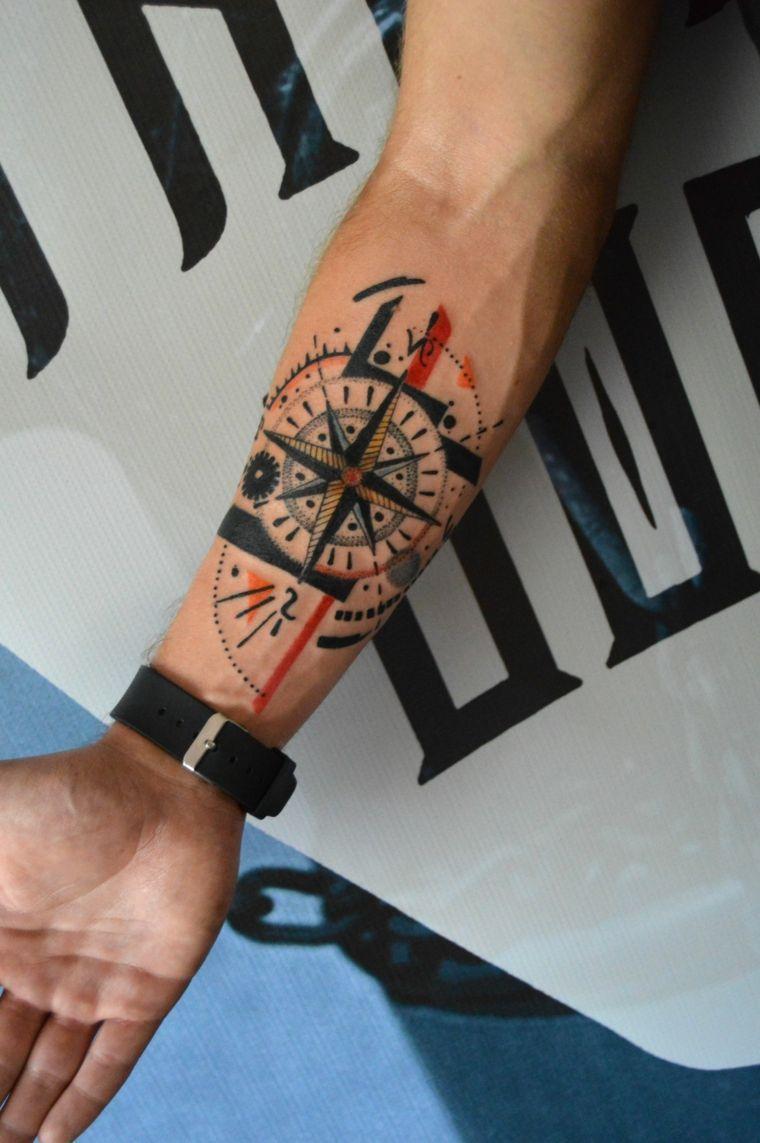 ▷ 1001 + Idee Tatuaggio braccio uomo stili e disegni