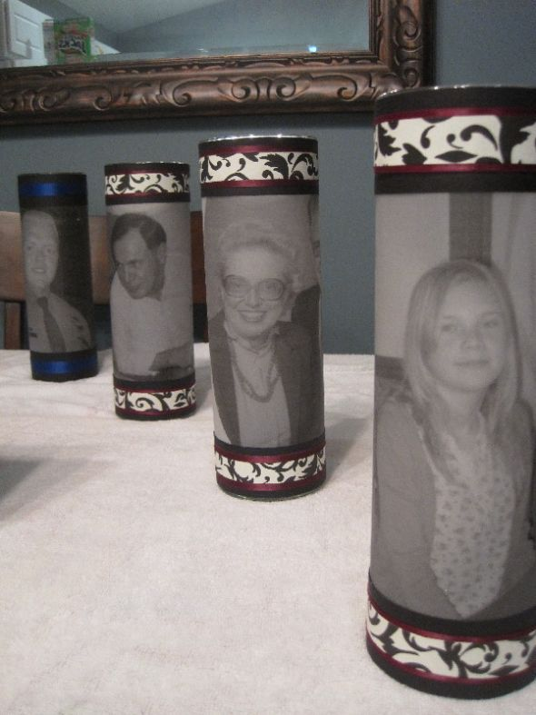 picture candles for memory tables class reunion ideasclass reunion decorationsmemorial