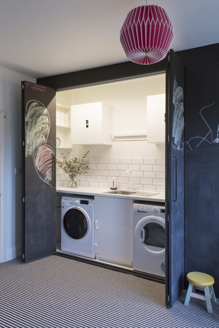 25 great modern farmhouse small laundry room ideas on extraordinary small laundry room design and decorating ideas modest laundry space id=65368