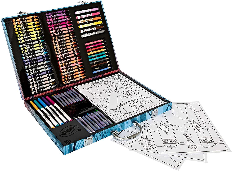Shop Crayola Frozen 2 Inspiration Art Case 1 At Artsy Sister Art Case Coloring Supplies Art Inspiration
