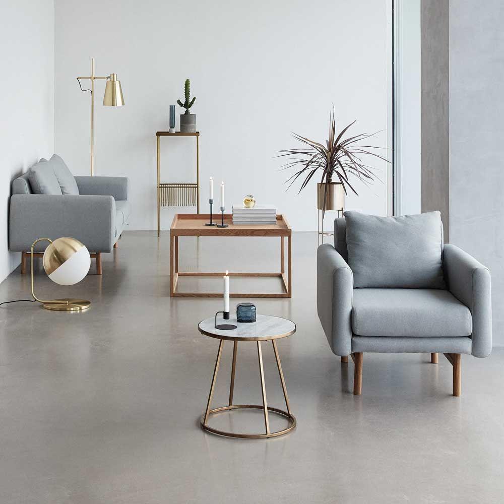 Hübsch Möbel beistelltisch amanda couchtisch hübsch interior