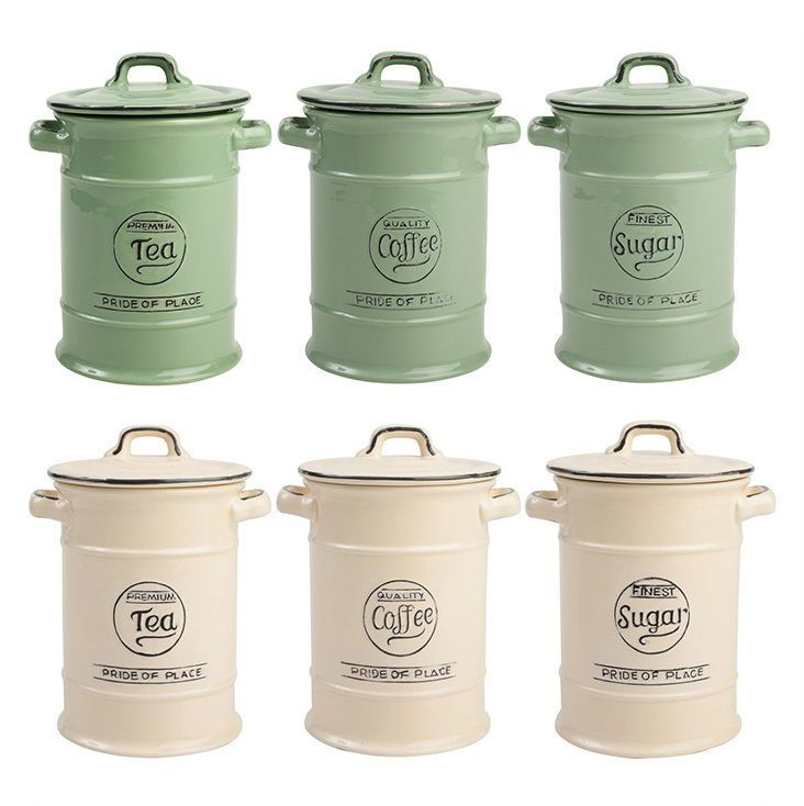 Tu0026G Woodwares Ceramic Pride of Place Tea Coffee Or Sugar Storage Jar in Home Furniture u0026 DIY Cookware Dining u0026 Bar Food u0026 Kitchen Storage | eBay  sc 1 st  Pinterest & Tu0026G Woodwares Ceramic Pride of Place Tea Coffee Or Sugar Storage Jar ...
