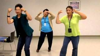 keep your eyes on the hands hula - YouTube