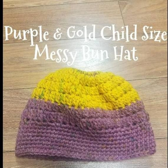 Girls Bun Beanie, Kids Bun Beanie, Messy Crochet Beanie, Crochet Hair Bun Hat, Messy Bun Crochet, Messy Hair, Bun Hat Crochet, Messy Bun #kidsmessyhats