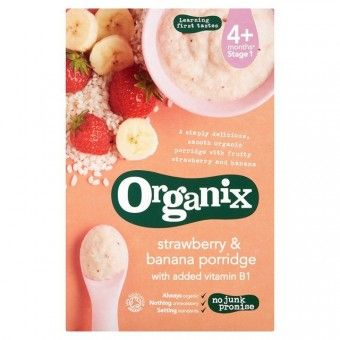 322fc30a35b67c Organic Strawberry   Banana Porridge 120g - BabyOnline HK