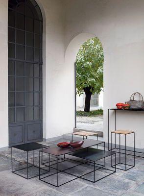 Console Slim Irony Zeus Noir Made In Design Timeless Furniture Minimalist Furniture Minimalist Home Decor