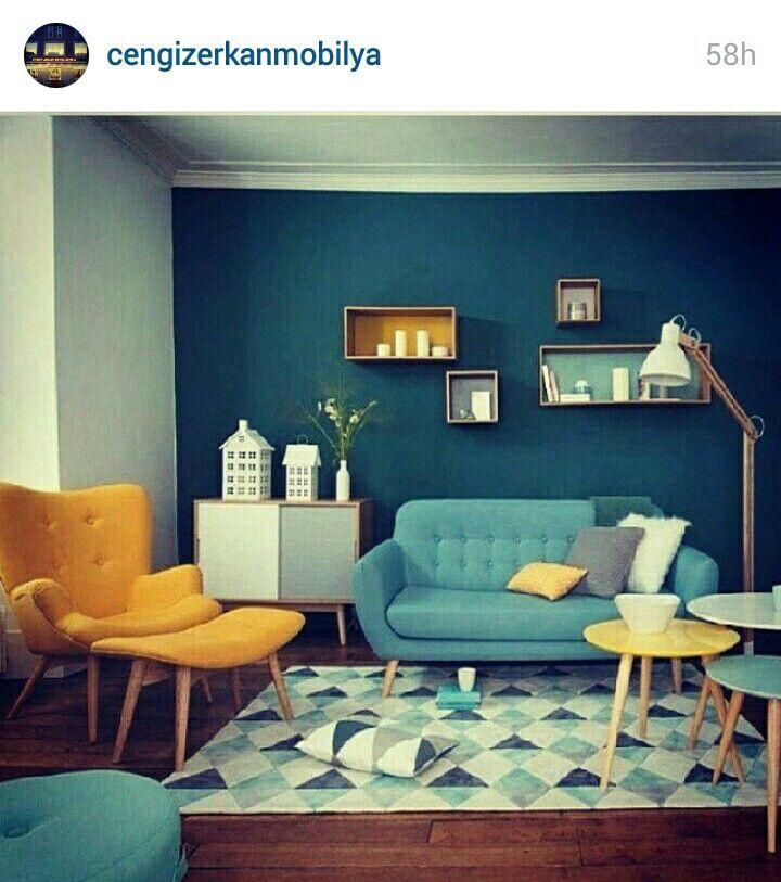 Spor koltuk takımı | Ev Dekorasyon | Pinterest | Living rooms ...
