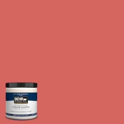BEHR Premium Plus Home Decorators Collection 8 Oz. #HDC MD 05 Desert Coral  Flat Interior/Exterior Paint And Primer In One Sample PP10316   The Home  Depot