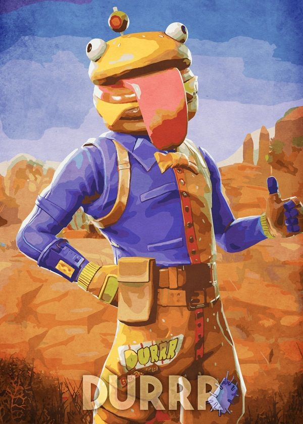 Fortnite Character Poses Displate Posters